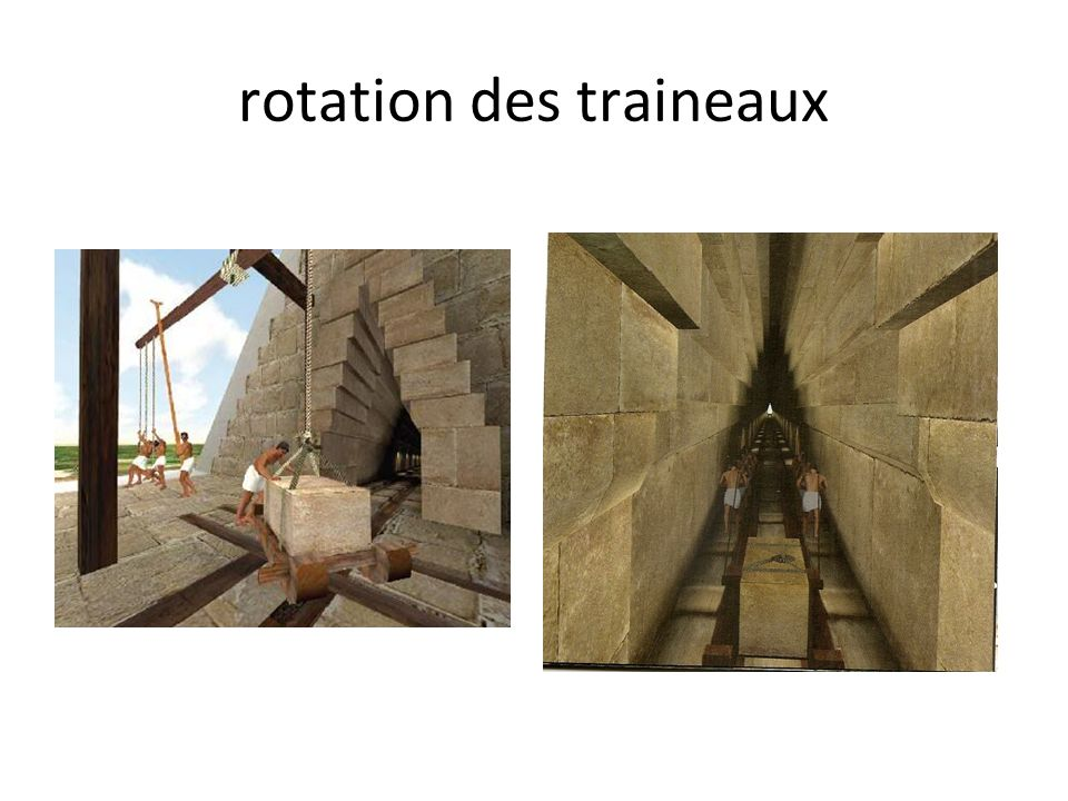 rotation des traineaux