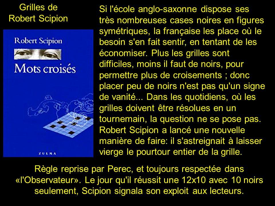 Grilles de Robert Scipion.