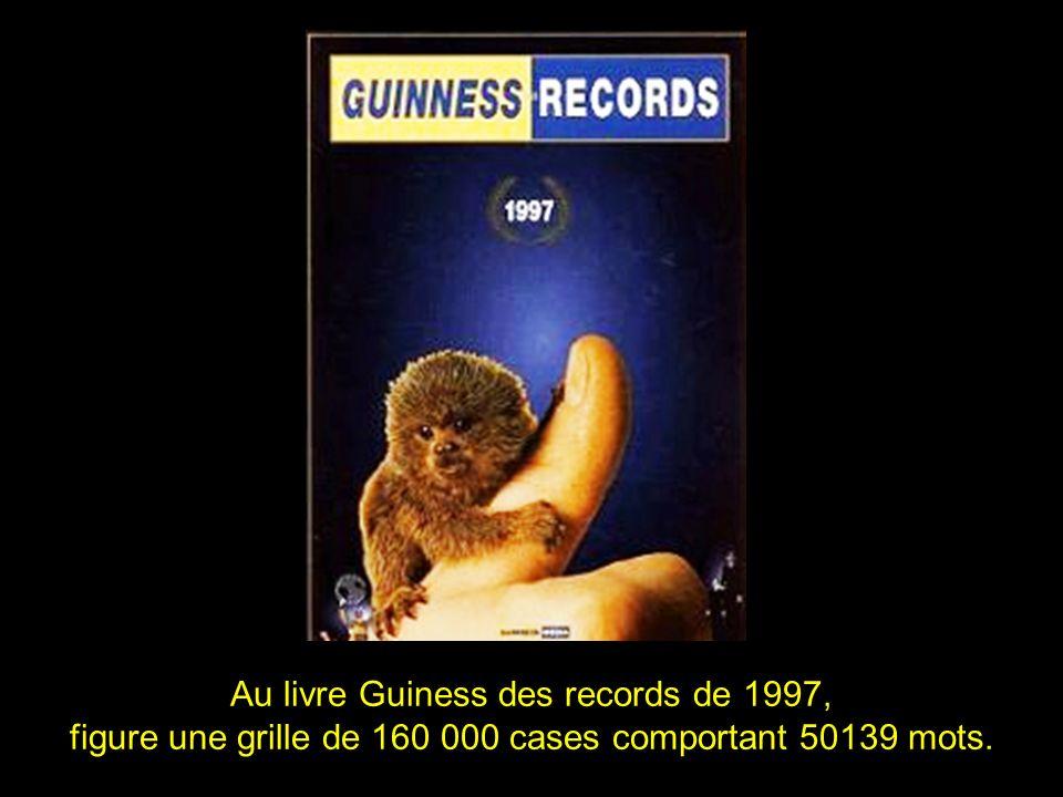 Au livre Guiness des records de 1997,