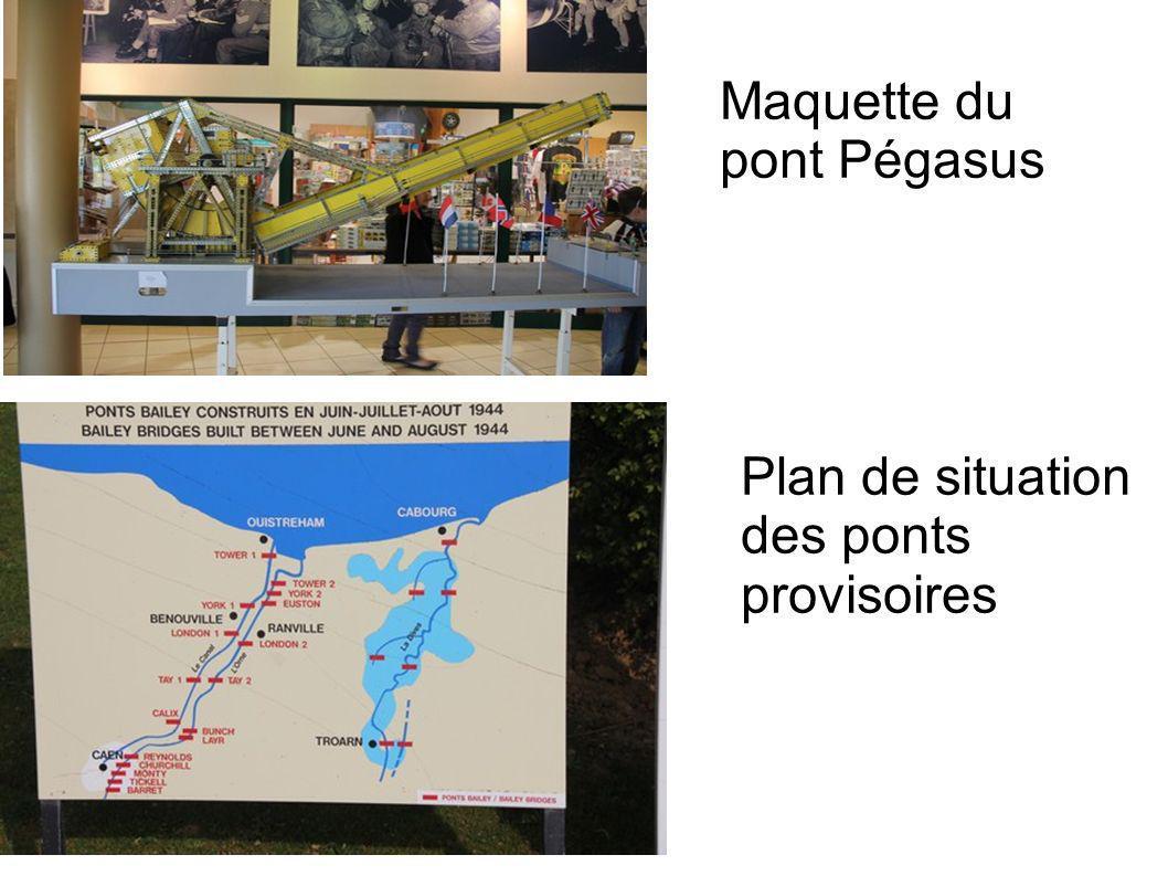Maquette du pont Pégasus