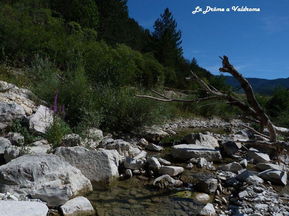 La Drôme a Valdrome