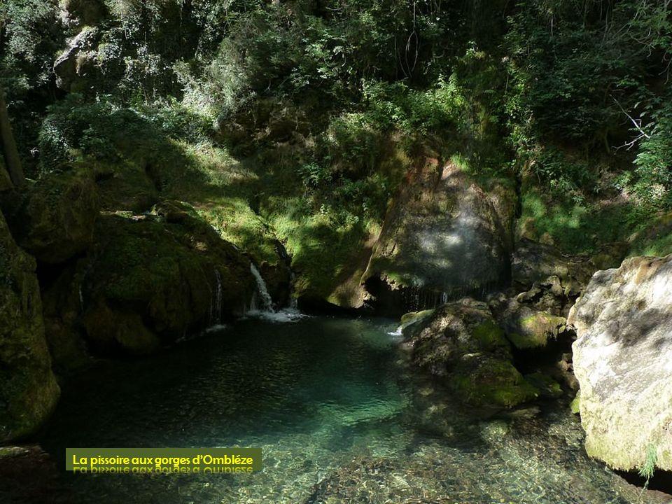 La pissoire aux gorges d'Ombléze
