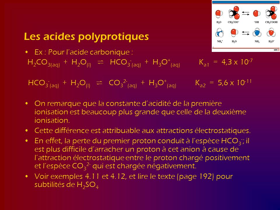 Les acides polyprotiques