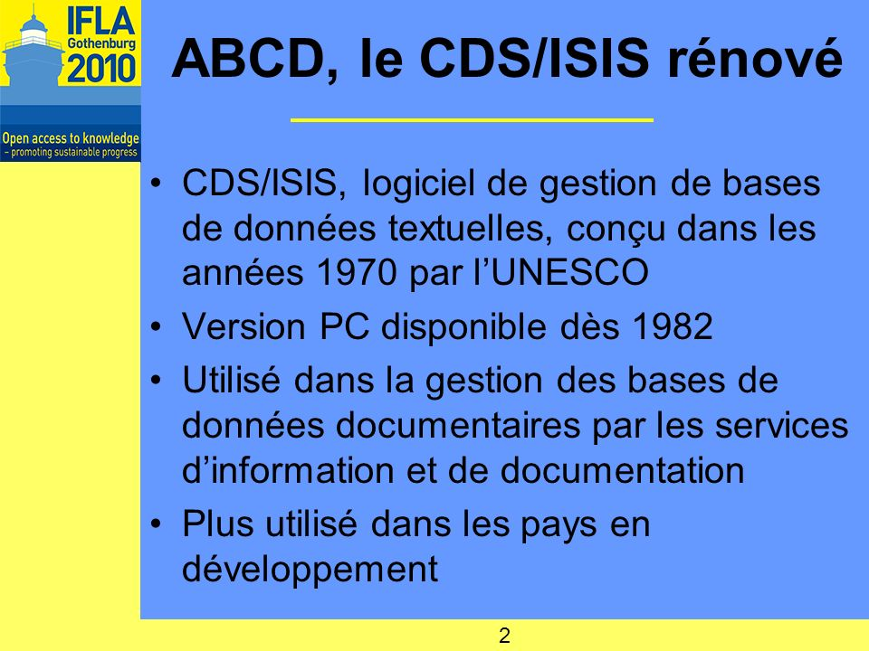 ABCD, le CDS/ISIS rénové