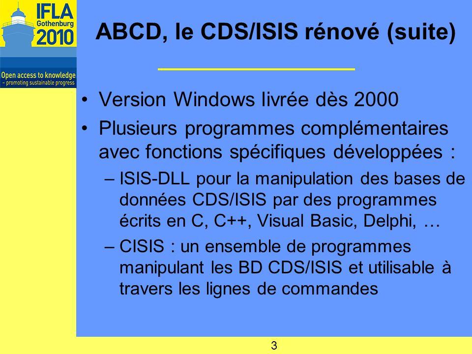 ABCD, le CDS/ISIS rénové (suite)