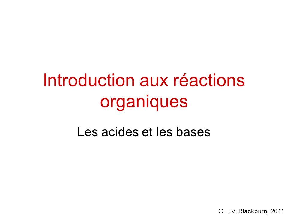 Introduction aux réactions organiques