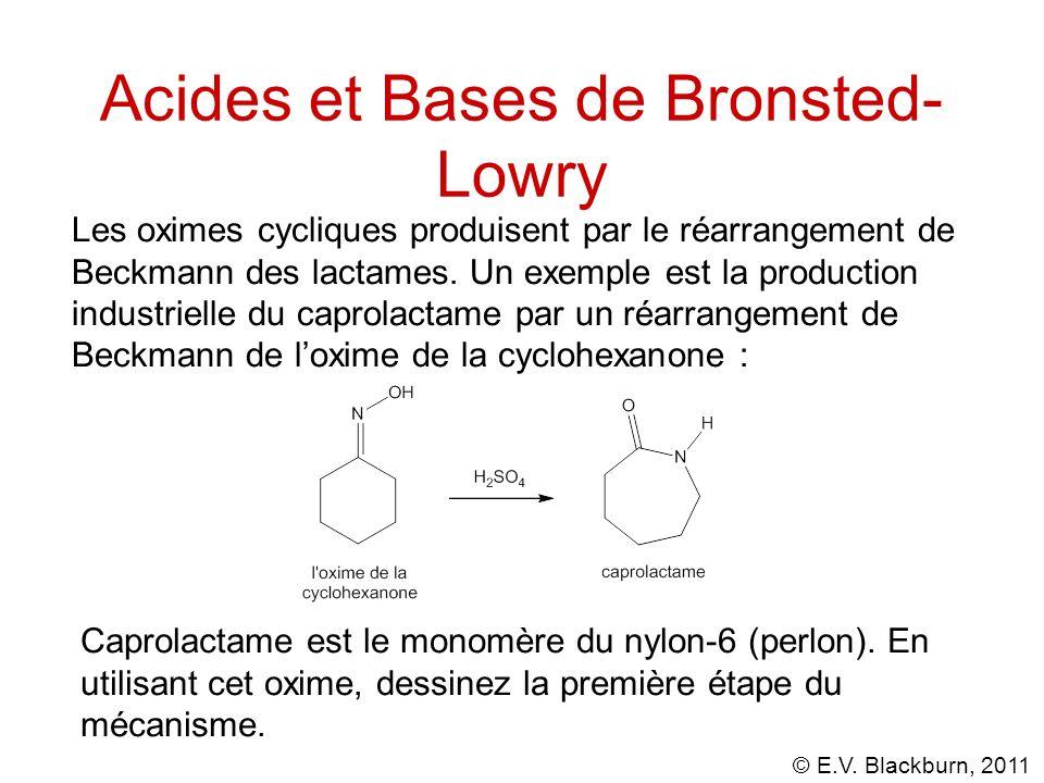 Acides et Bases de Bronsted-Lowry