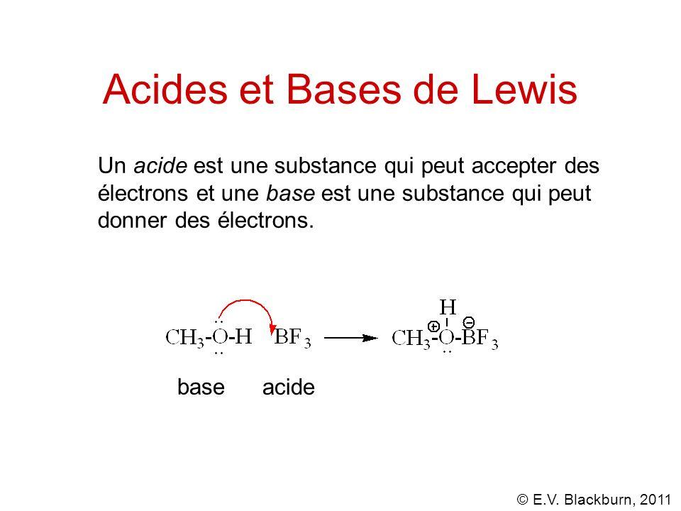 Acides et Bases de Lewis
