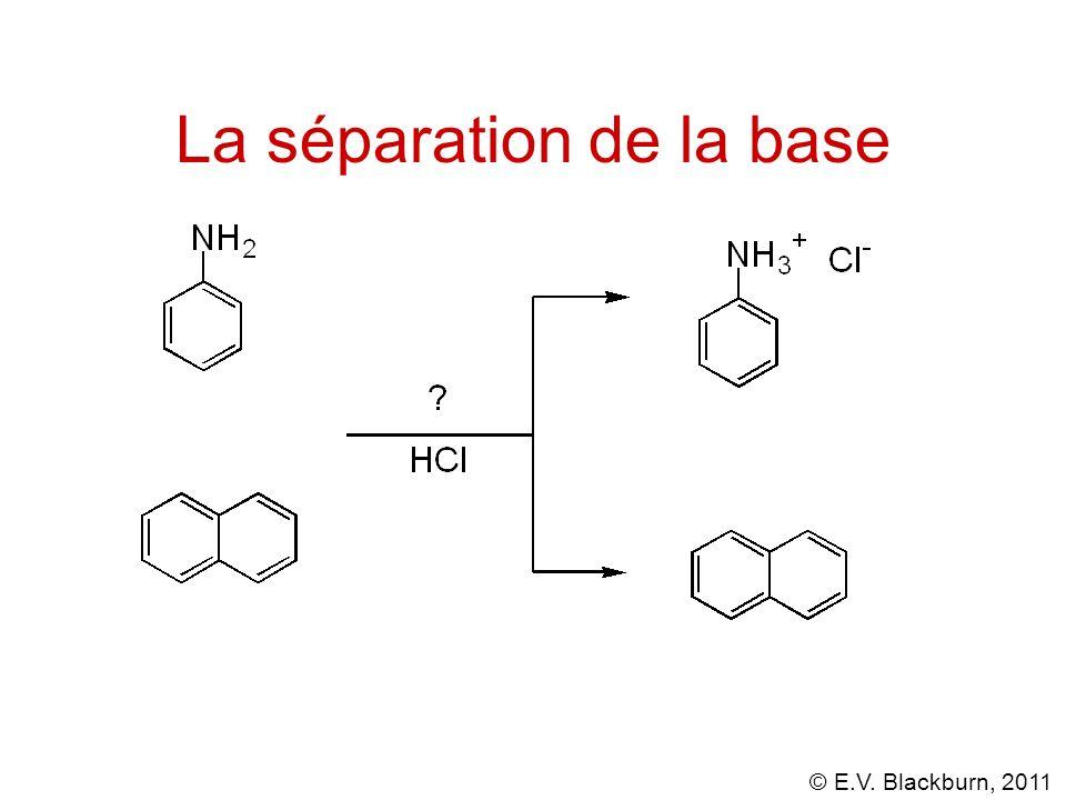 La séparation de la base
