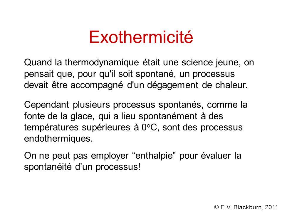 Exothermicité