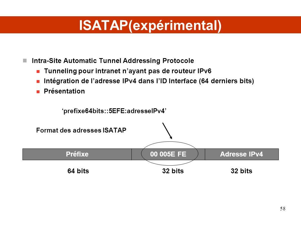 ISATAP(expérimental)