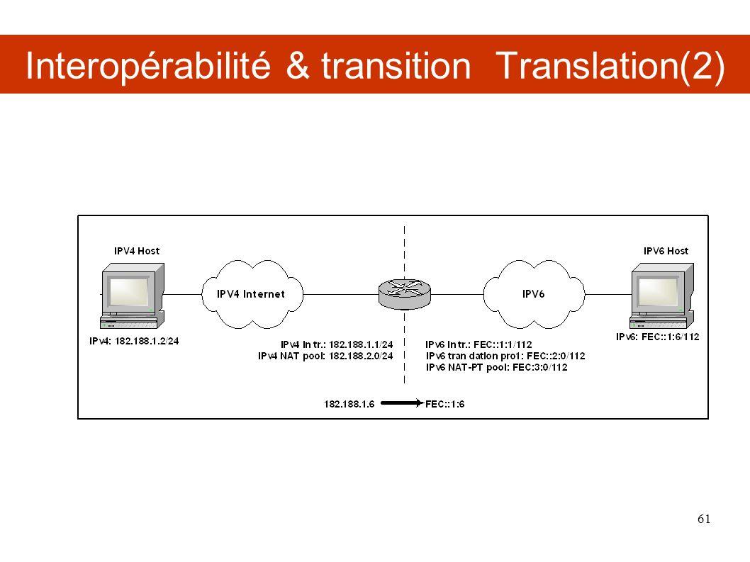 Interopérabilité & transition Translation(2)