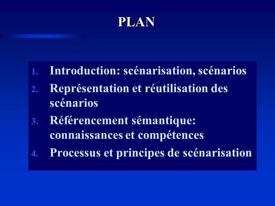 PLAN Introduction: scénarisation, scénarios