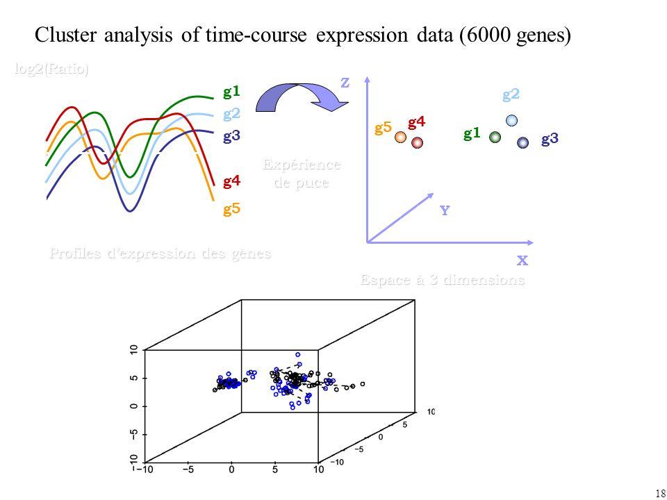 Profiles d'expression des gènes