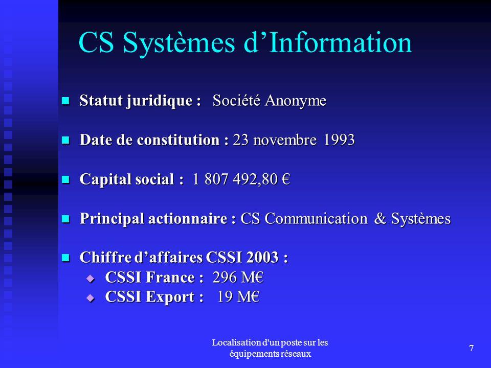 CS Systèmes d'Information