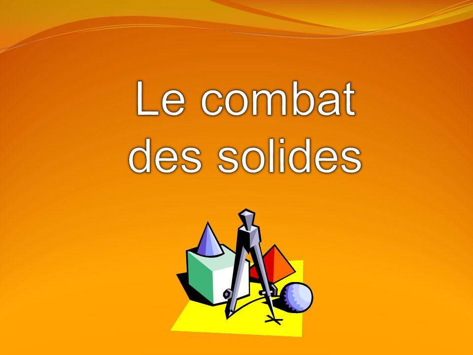 Le combat des solides