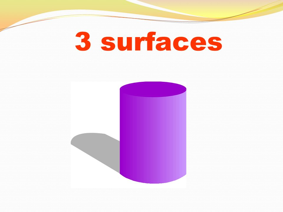 3 surfaces