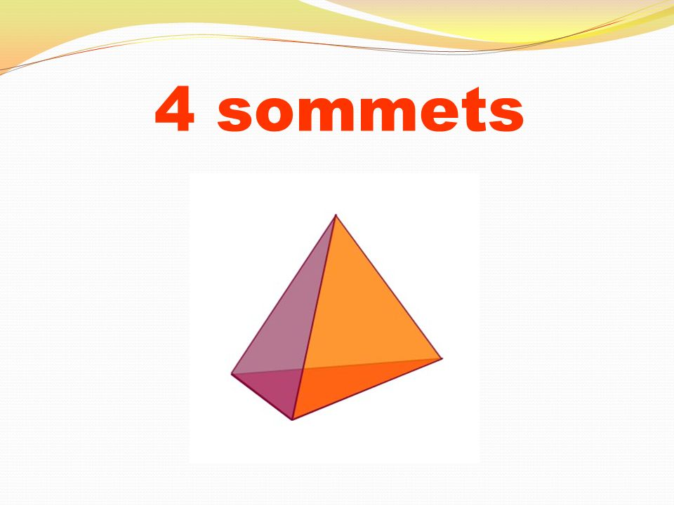 4 sommets