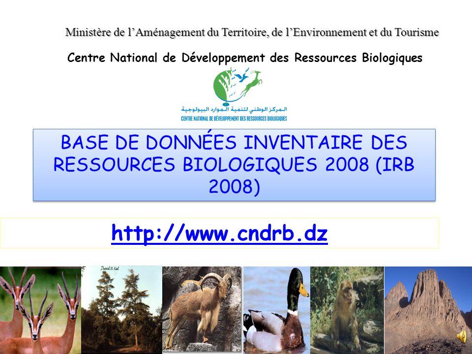 Centre National de Développement des Ressources Biologiques