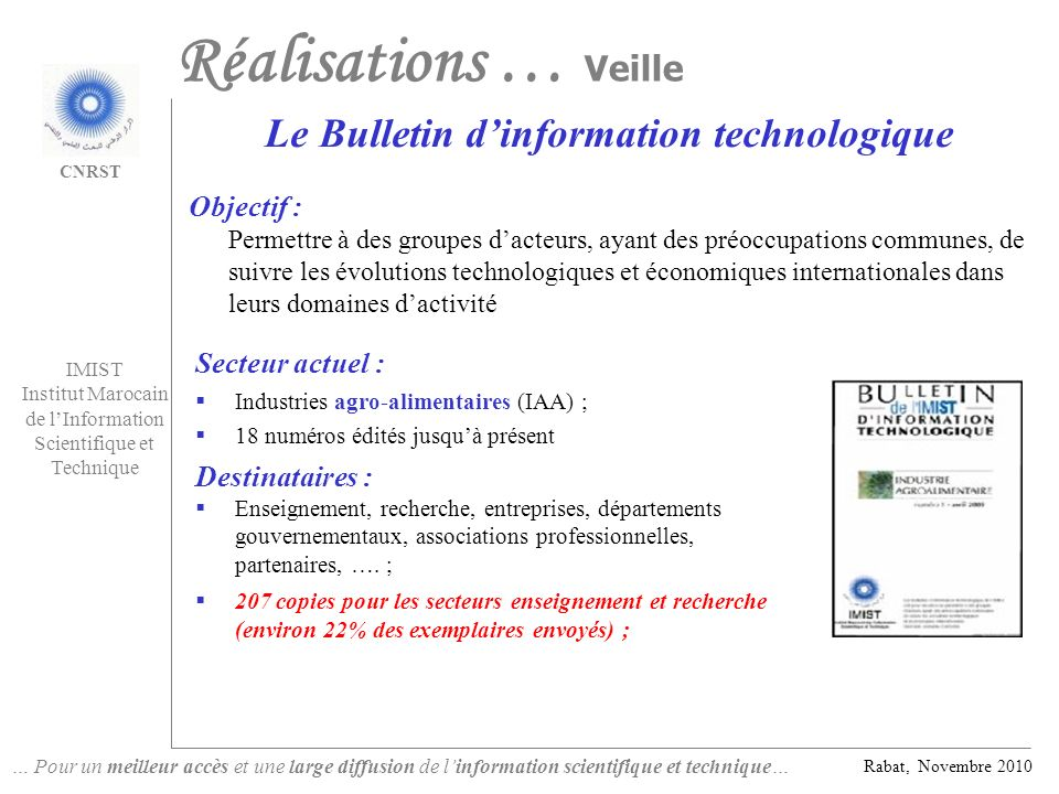 Le Bulletin d'information technologique