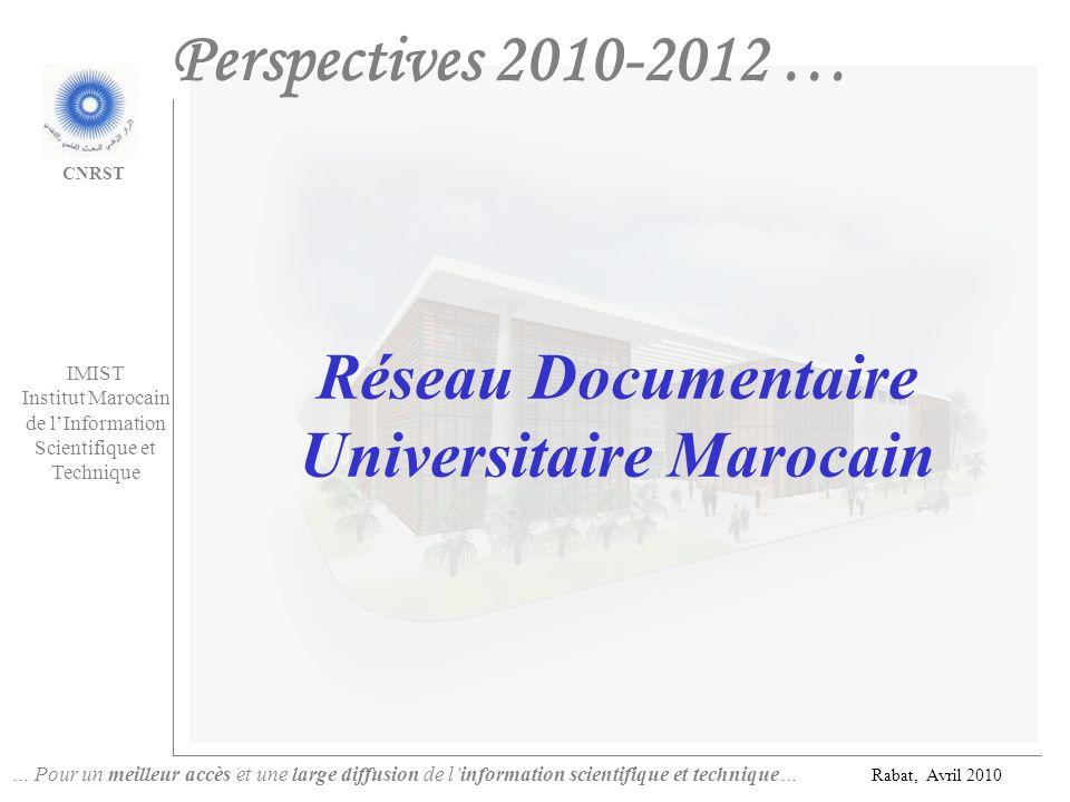 Réseau Documentaire Universitaire Marocain