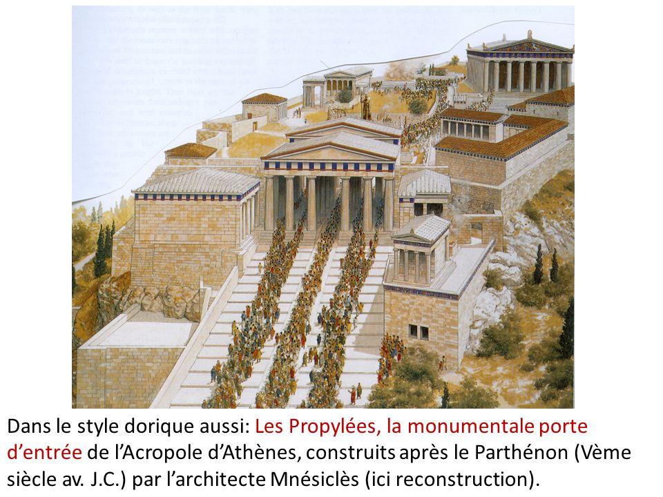 Propylées 437-432 av. J.C., Parthénon 448-432 av. J.C.