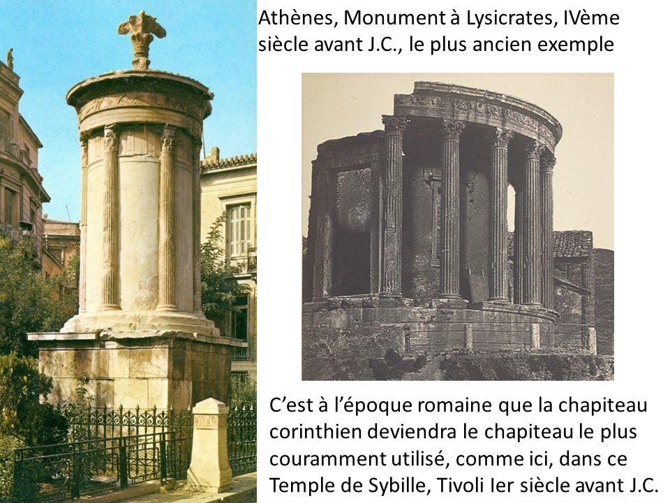 Athènes, Monument à Lysicrates, IVème siècle avant J. C