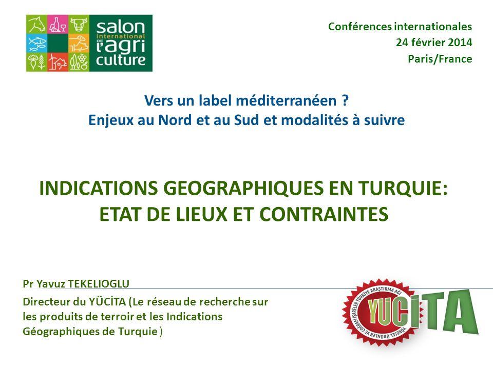 Conférences internationales 24 février 2014 Paris/France