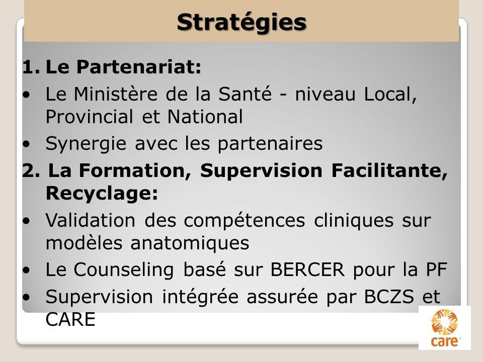 Stratégies Le Partenariat: