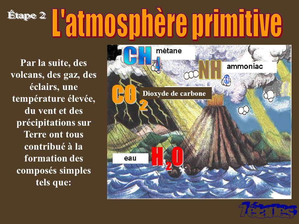 L atmosphère primitive