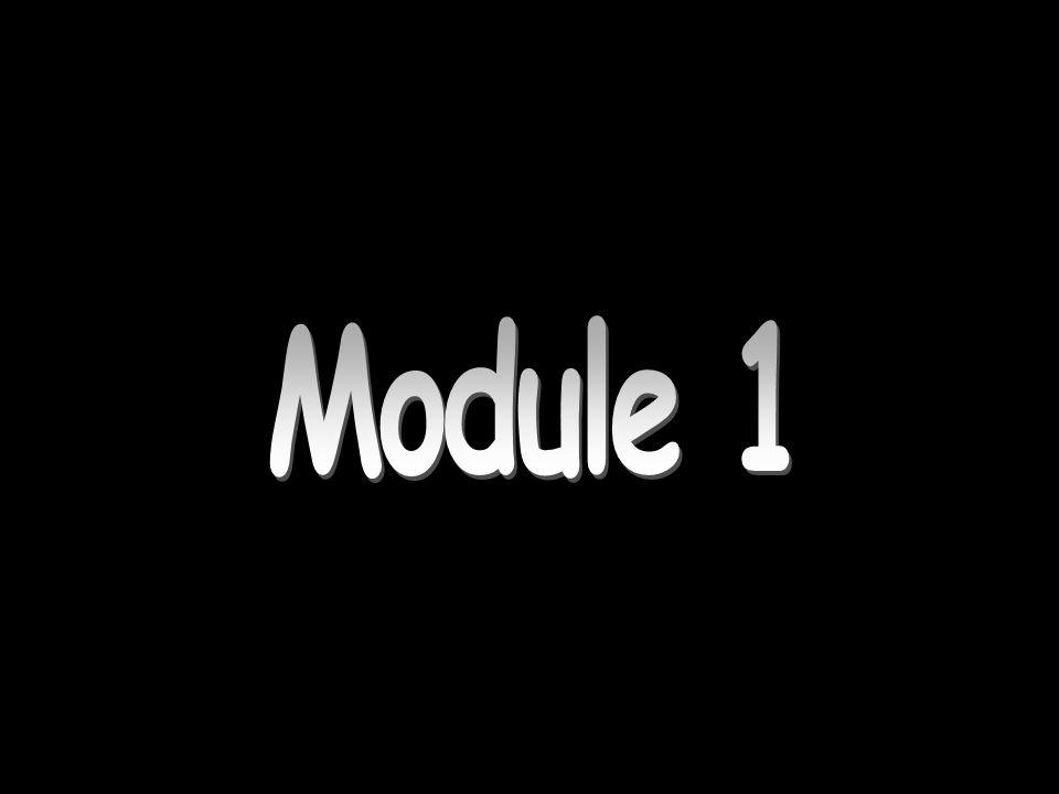 Module 1 Module 1