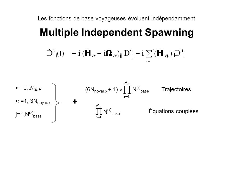 Multiple Independent Spawning