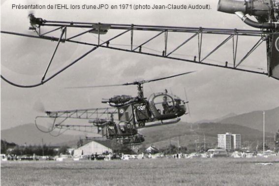 Présentation de l EHL lors d une JPO en 1971 (photo Jean-Claude Audouit).
