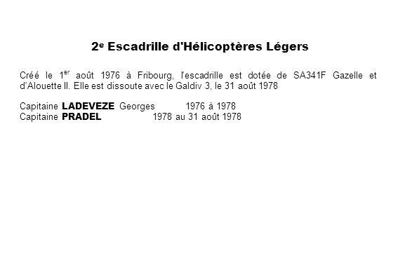 2e Escadrille d Hélicoptères Légers