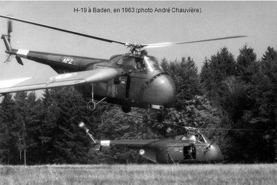 H-19 à Baden, en 1963 (photo André Chauvière).