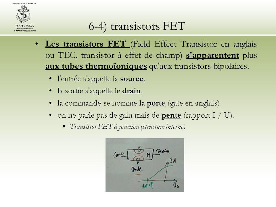 6-4) transistors FET