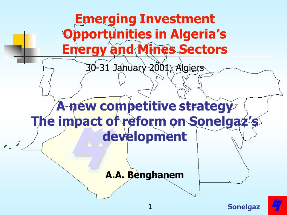 Opportunities in Algeria's Energy and Mines Sectors