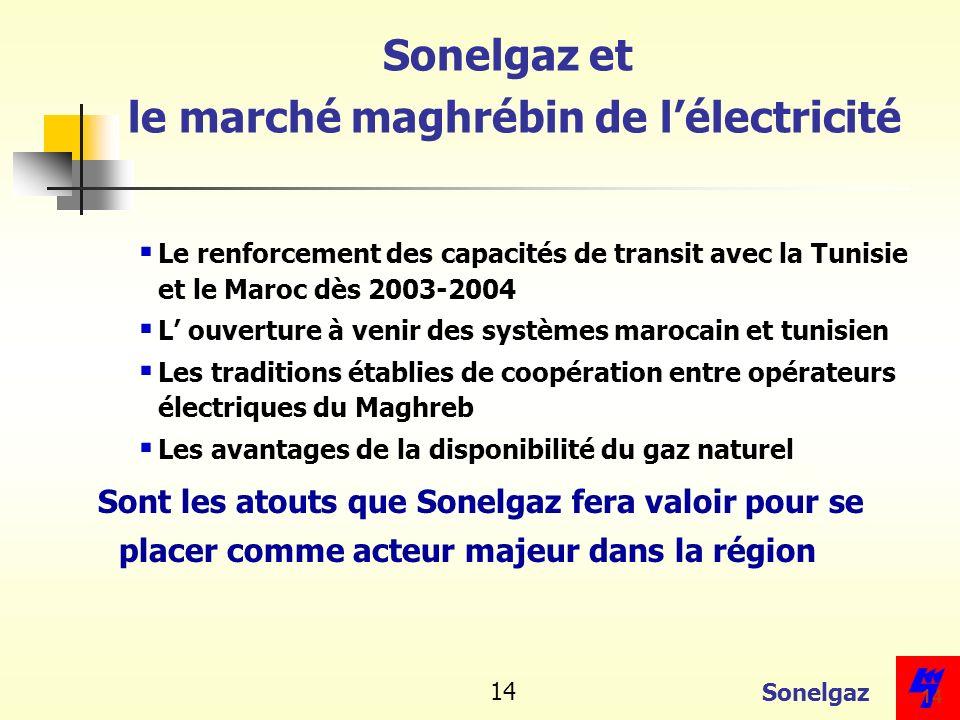 Sonelgaz et le marché maghrébin de l'électricité
