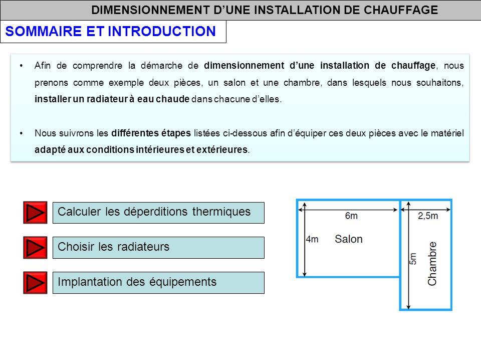 Formule calcul puissance radiateur chauffage central lors - Calcul installation chauffage central ...