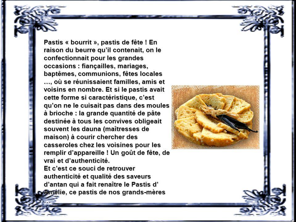 Pastis « bourrit », pastis de fête