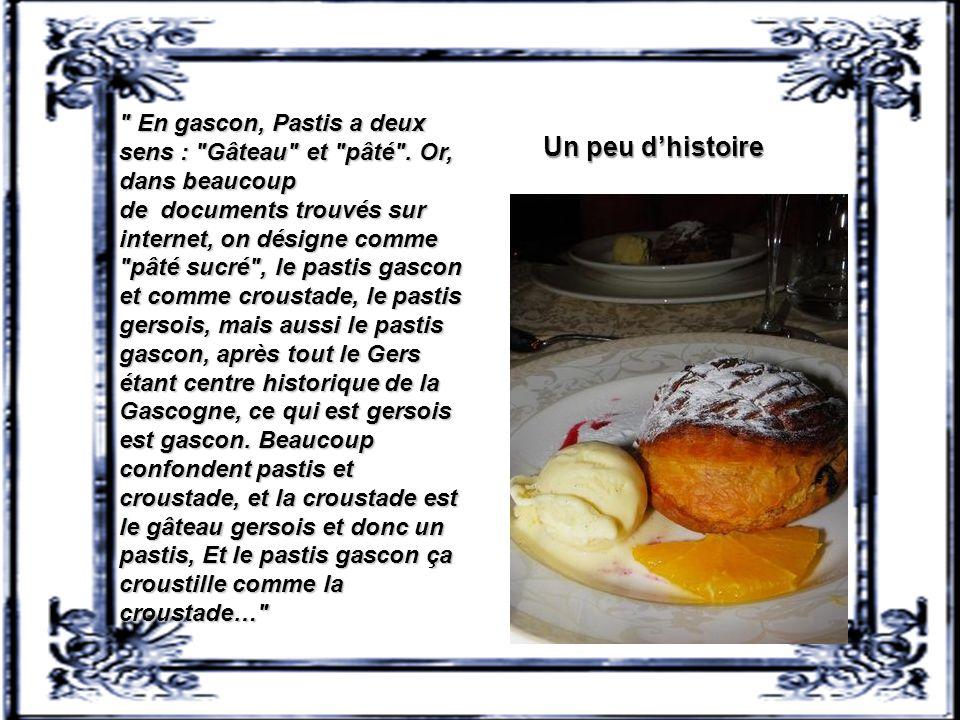 En gascon, Pastis a deux sens : Gâteau et pâté