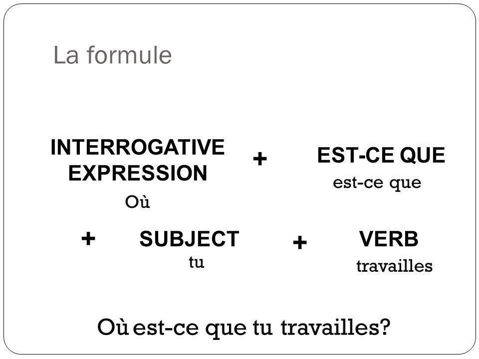 INTERROGATIVE EXPRESSION