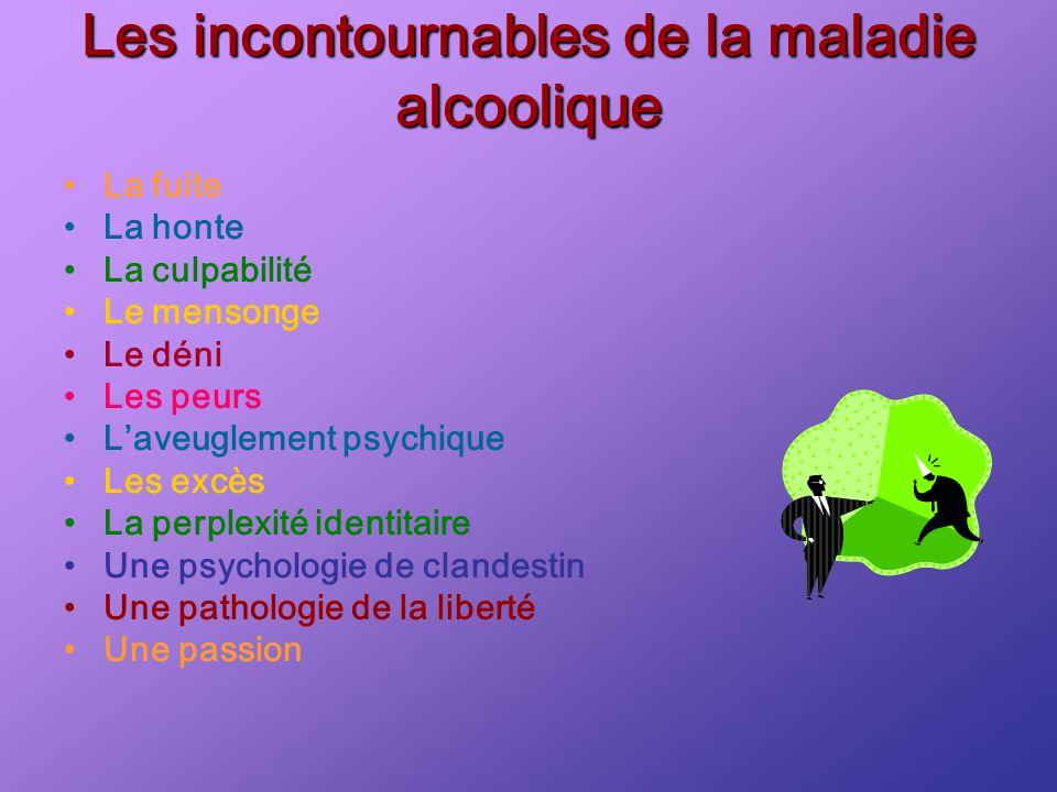 Les incontournables de la maladie alcoolique