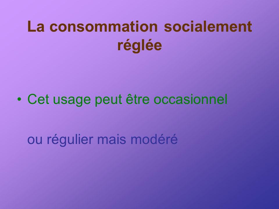 La consommation socialement réglée