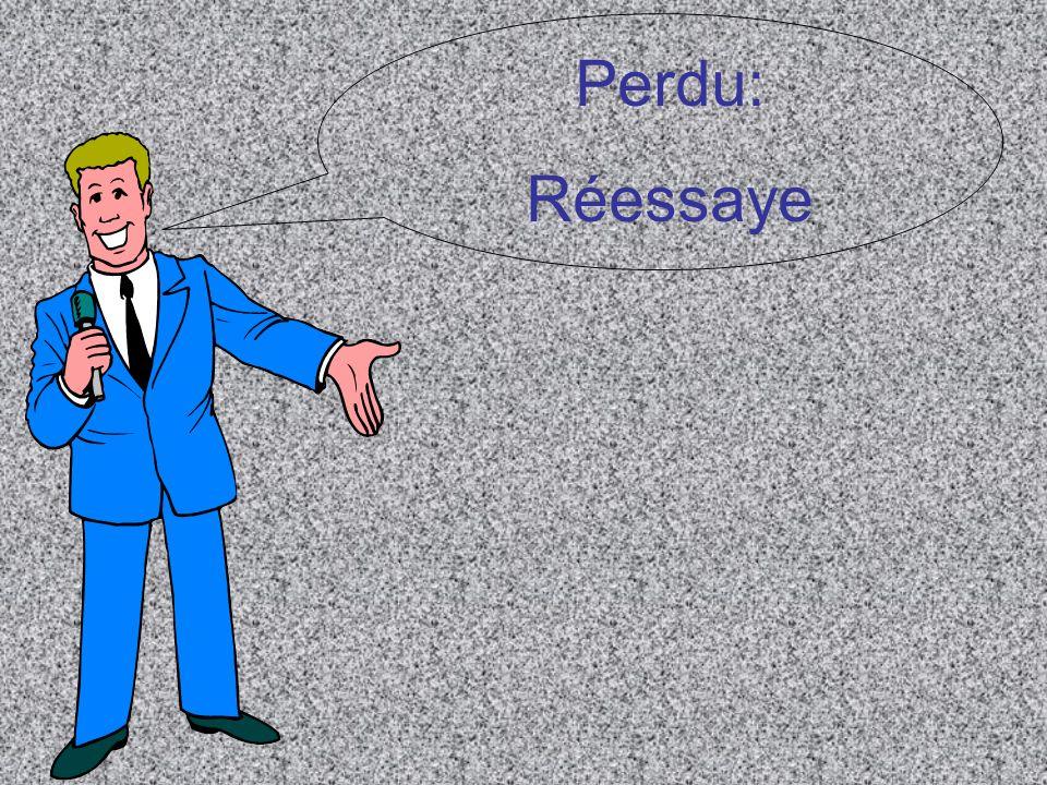 Perdu: Réessaye