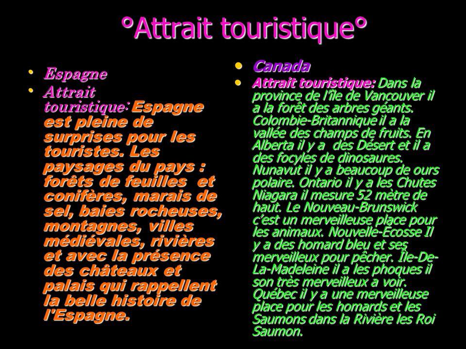 °Attrait touristique°