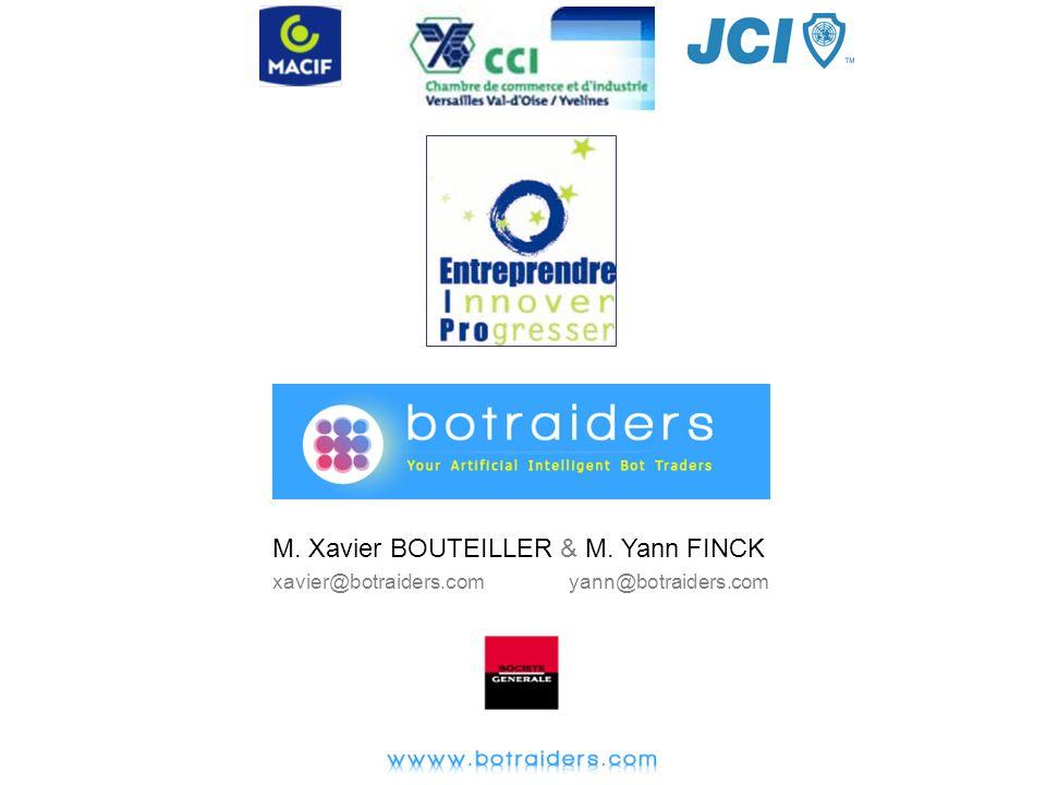 M. Xavier BOUTEILLER & M. Yann FINCK