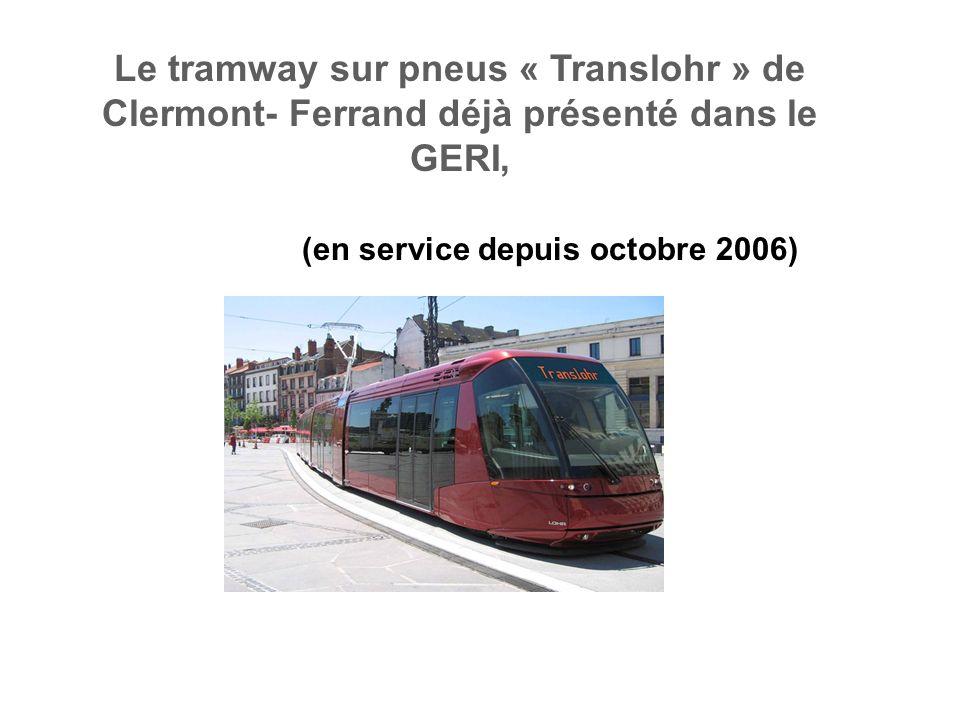 Guidage en V du tramway sur pneus « Translohr » retenu pour le NEOVAL (contributions INRETS-LTN)