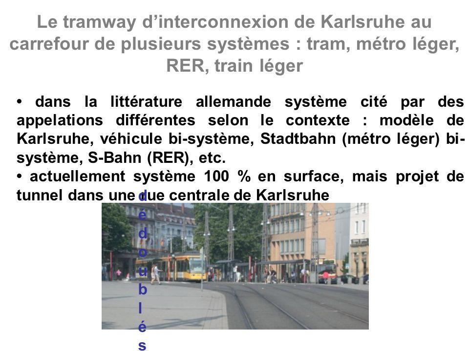 En Allemagne, exemple d'intermodalité soignée entre transport guidé et bus