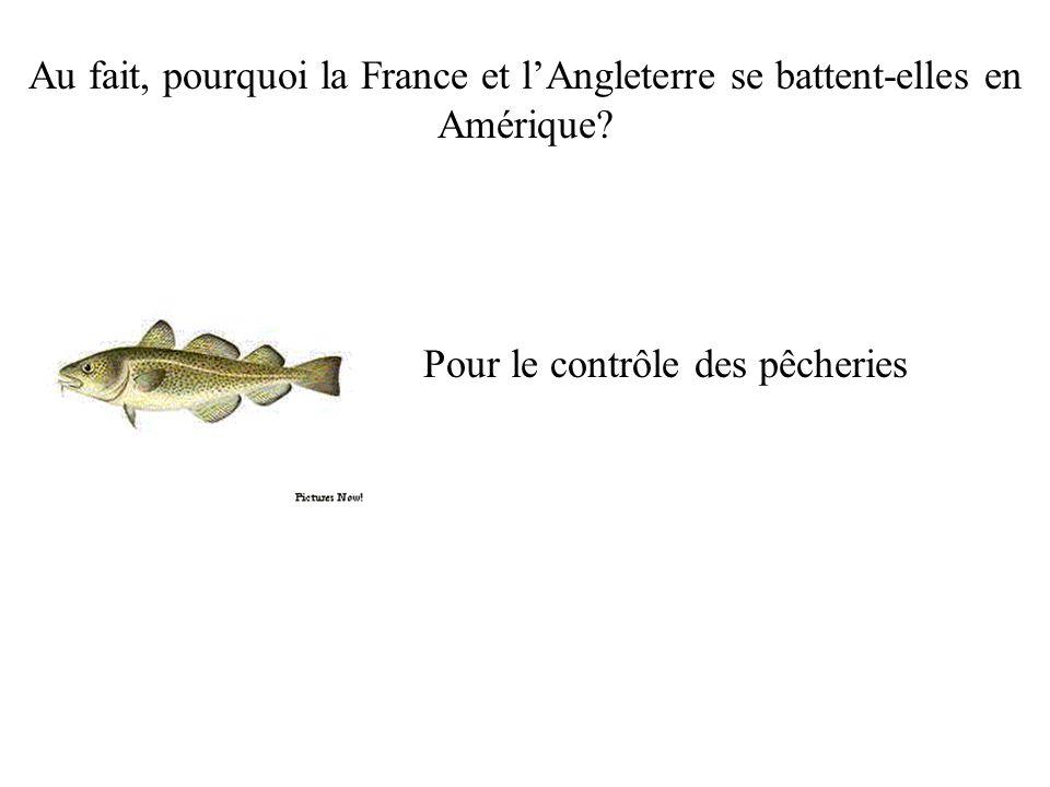 Pour le contrôle des pêcheries
